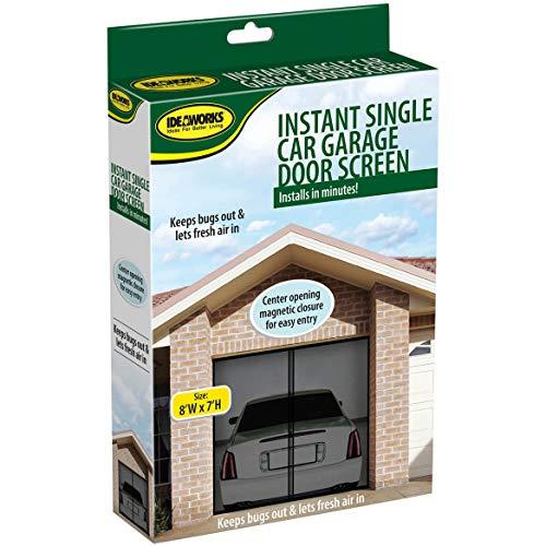Garage Door Screen (8 ft x 7 ft) Single Garage