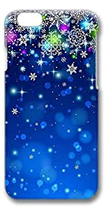 iPhone 6 Case, Custom Design Protective Covers for iPhone 6(4.7 inch) PC 3D Case - Snow Night