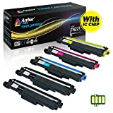 Arthur Imaging with CHIP Compatible Toner Cartridge Replacement Brother TN227 TN227bk TN 227 TN223 use with HL-L3210CW HL-L3230CDW HL-L3270CDW HL-L3290CDW MFC-L3710CW MFC-L3750CDW MFC-L3770CDW 5 Pack