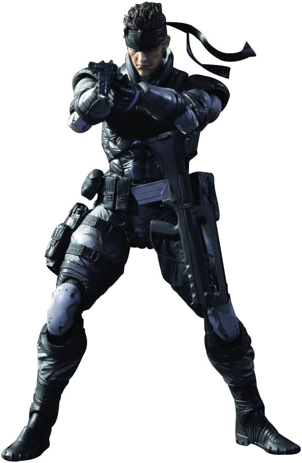 Square Enix Metal Gear Solid: Play Arts Kai: Solid Snake Action Figure