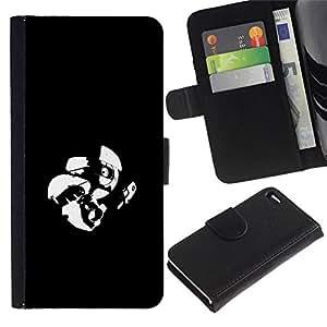 All Phone Most Case / Oferta Especial Cáscara Funda de cuero Monedero Cubierta de proteccion Caso / Wallet Case for Apple Iphone 4 / 4S // Aperture Lab