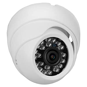 Infrared Night Vision Camera 420TVL HD Image Dome Camera Smart Home Security Device(PAL Format)