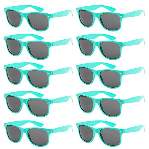 WHOLESALE-UNISEX-80S-RETRO-STYLE-BULK-LOT-PROMOTIONAL-SUNGLASSES-10-PACK