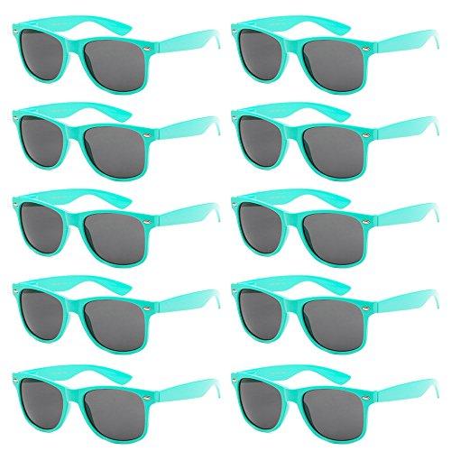 wholesale-unisex-80s-style-retro-bulk-lot-sunglasses-aqua-teal-smoke