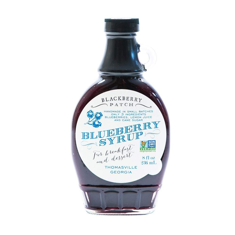 BLACKBERRY PATCH Blueberry Syrup, 8 OZ