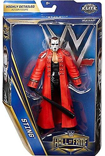 "WWE Wrestling Hall of Fame Elite Collection Mattel Sting 6"" Action Figure"
