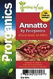 200 Bixa Orellana, Achiote Seeds by Prorganics