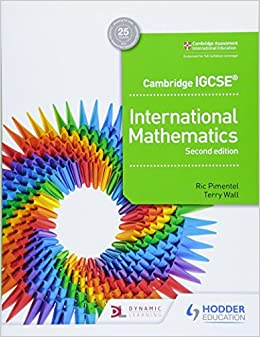 Cambridge IGCSE International Mathematics 2nd edition 9781510421400 IGCSE at amazon