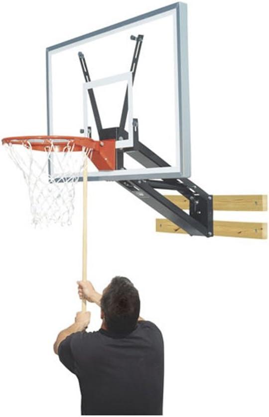 Bison pkg275 Quickchangeアクリル壁マウント調整可能バスケットボールフープ