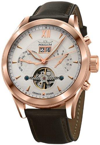 Perigaum Automatic Men's Watch P-1112-Ir-W-Brle