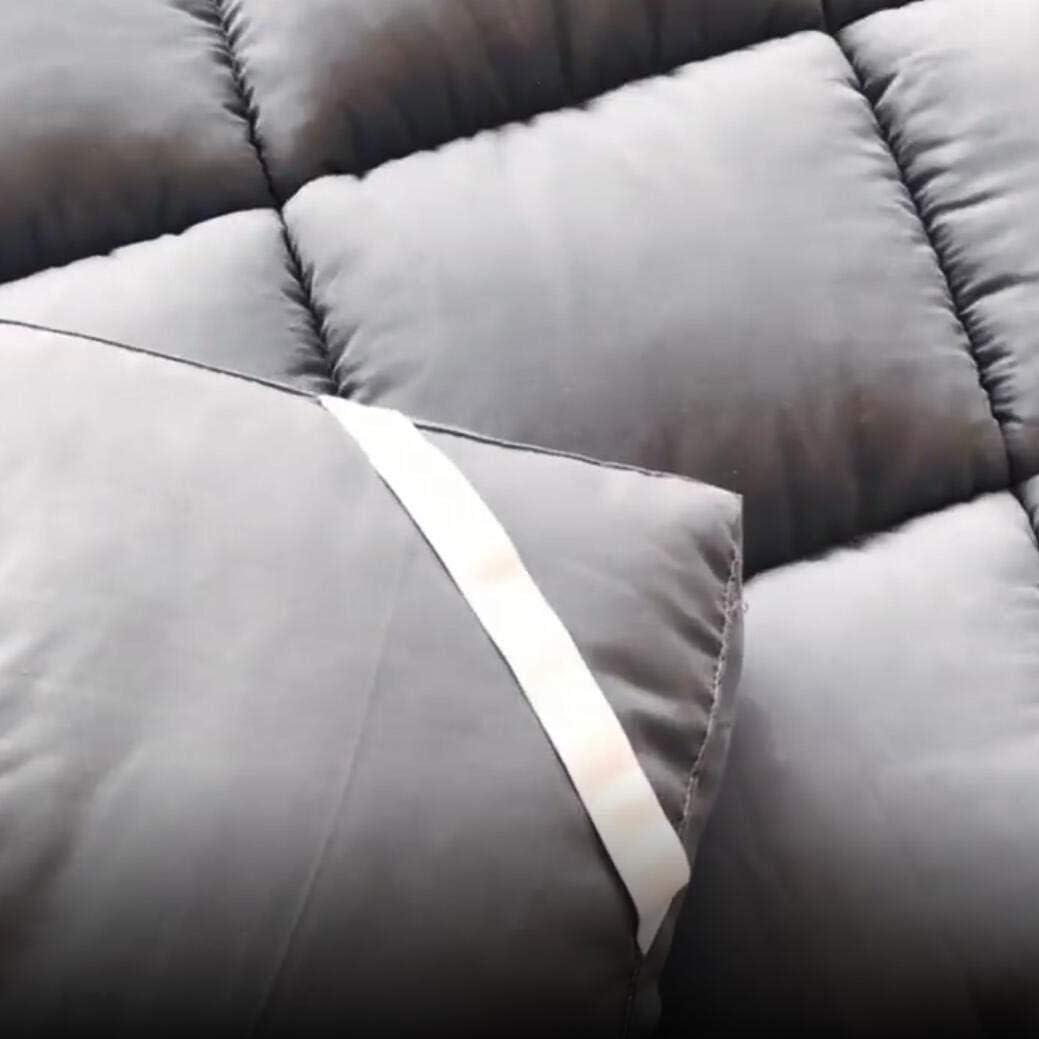 CVNJSKDKH 4 Inch Futon Mattress Topper Foldable Thick Sleeping Pad Soft Plush Mattress Protector Tatami Floor Mattress Dormitory Color : B, Size : Twin