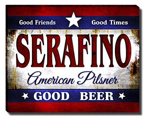 ZuWEE Serafino's American Pilsner Gallery Wrapped Canvas Print (Print Serafino)