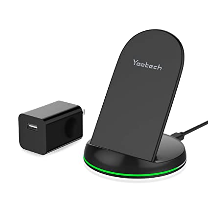 Amazon.com: Yootech Cargador inalámbrico Qi certificado ...