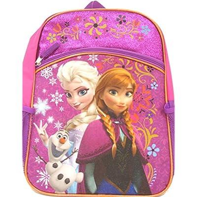 Disney Frozen Princess Elsa & Anna Backpack, Large 16