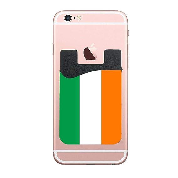 newest 266e8 c5b52 Amazon.com: Cellcardphone Flag of Ireland Authentic Version Custom ...