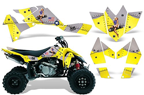 2006-2009 Suzuki LTR 450 AMRRACING ATV Graphics Decal (One Industries Suzuki Graphics)