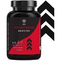 Testosterona Natural Aumenta Testosterona-Fenogreco Ginseng Maca Taurina Zinc Rendimiento Muscular Vigorizante y Potenciador del