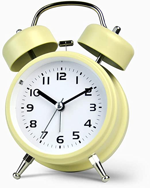 Reloj Despertador con Campana Mini Reloj Despertador con mesita ...