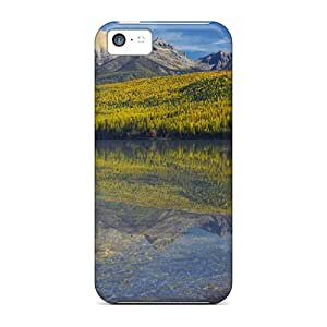 Iphone 5c Case Cover Skin : Premium High Quality Boats In A Manificent Lake Case