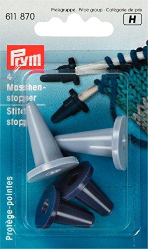 Prym 611870 Maschenstopper aus Kunststoff, 2,00-7,00 mm, farbig sortiert