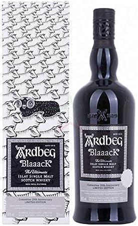 Ardbeg BlaaacK Islay Single Malt Scotch Whisky Committee 20th Anniversary Limited Edition 46% - 700 ml in Giftbox
