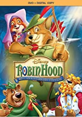 To commemorate its 40th anniversary, Disney proudly presents the unforgettable animated classic ROBIN HOOD on Blu-ray for the first time ever. Experience all the fun, thrills and celebrated music of this legendary adventure with perfect pictu...
