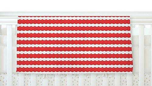 KESS InHouse Heidi Jennnings Feeling Festive Red White Fleece Baby Blanket 40 x 30 [並行輸入品]   B077ZTGB75
