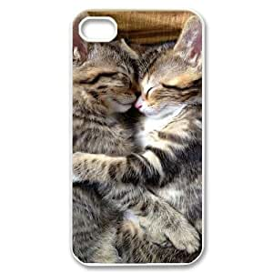 T-TGL(RQ) Customized New Printed Phone Case for Iphone 4/4S diy Cat case