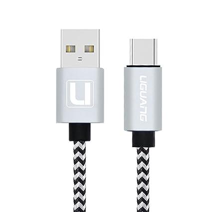 Amazon.com: USB tipo C cable liguang USB C Trenzado de ...