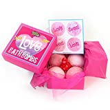 Sweet & Sassy Bath Bomb Gift Set for Girls & Teens: Love, Sweet, Love! offers