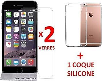 pack verre trempe coque iphone 7