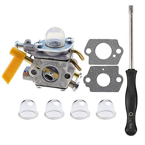 HIPA 309368003 Carburetor with Adjustment Tool for Ryobi 309368001 308054022 RY09050 RY09051 RY13015 RY13050A RY34000 RY34420 RY34440 RY64400 RY13010 RY28060 Trimmer 308054025 308054032 by HIPA