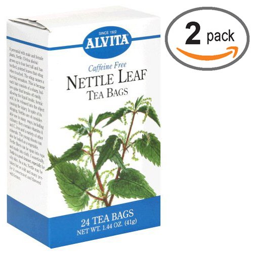 Alvita Tea Nettle Leaf Caffeine Free 24 bag(2 pack)