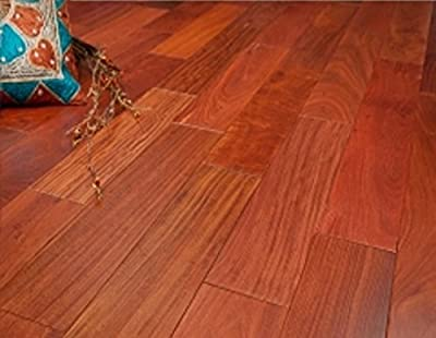 "Santos Mahogany Prefinished Engineered 5"" x 1/2"" Wood Flooring w/3mm Wear Layer Samples at Discount Prices by Hurst Hardwoods"