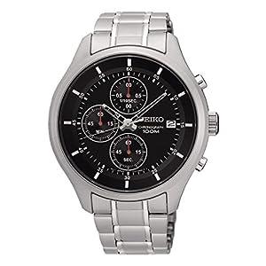 Seiko Chronograph Quartz Movement Men's Watch