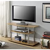 """Convenience Concepts Designs 2 Go TV Stand, for TVs up to 42"""" (Light Oak)"""