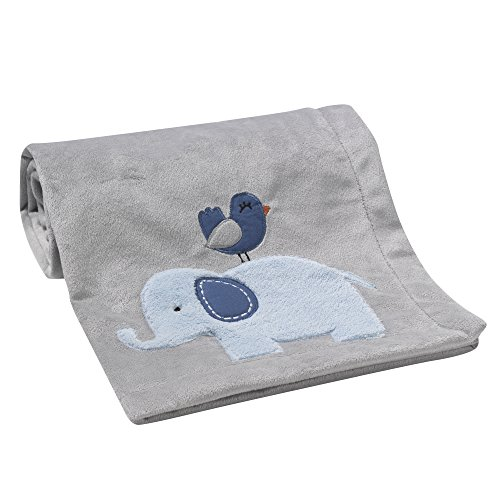 Bedtime Originals Two by Two Elephant Blanket,