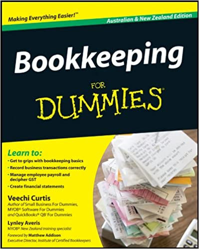 Myob Training In A Book Bookkeeping For Beginners