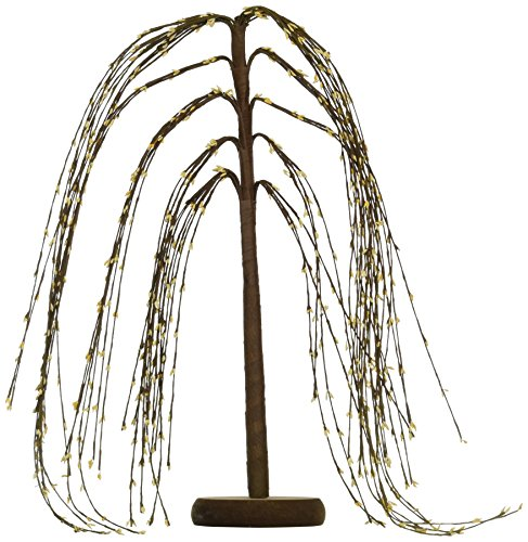 Weeping Willow Branch (CWI Gifts Weeping Willow Tree, 18-Inch, Cream)