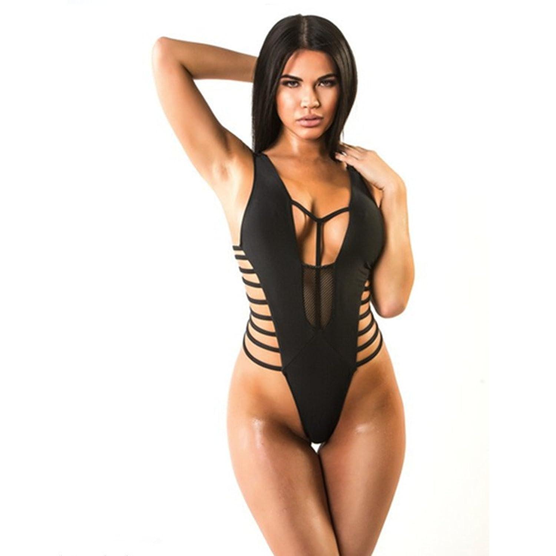 Mehreren Seil Design sexy Damen Bikini einteiligen Badeanzug