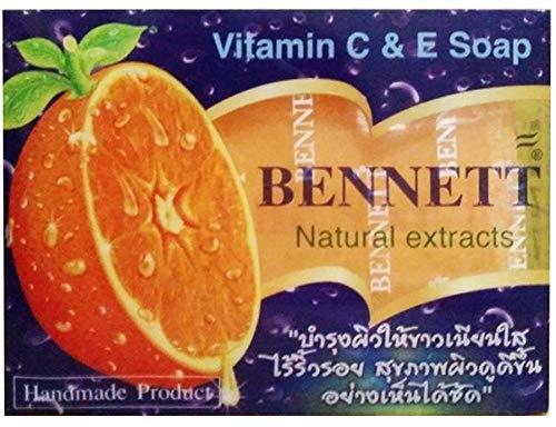 Bennett Vitamin C&E Soap Natural extracts/Thai Soap 130 G.