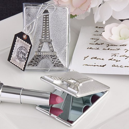Eiffel Tower design mirror compacts - 40 count