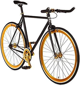 Big Shot Bicicletas Línea Premium | Bicicleta de Pista | Velocidad única o Equipo Fijo | Fixie | Bicicletas de Engranaje Fijo Personalizadas | 4130 Chromoly | Pequeño, Mediano y Grande: Amazon.es: Deportes y aire libre