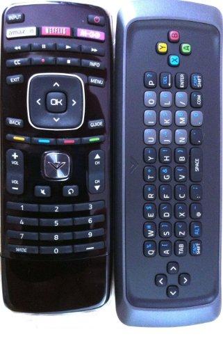 VIZIO New! Original XRV1TV QWERTY Keyboard Remote for M420SV M470SV M550SV M420SL M470SL M550SL M420SV M470SV M550SV M370SR M420SR M420KD E551VA Internet TV-30 Days Warranty!
