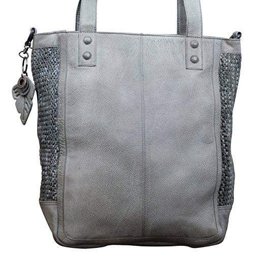 Handtasche Palermo - von Legend - Farbe Black Grau
