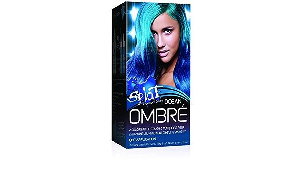 Splat Rebellious Colors Hair Coloring Complete Kit, Ocean ...