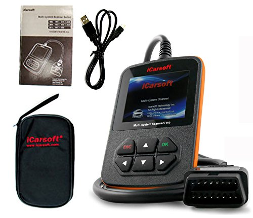 iCarsoft i900 General Motors Gm Obd2 Car Truck Diagnostic Scanner Tool Reset Erase Fault Code (Tech 2 Gm Scanner)