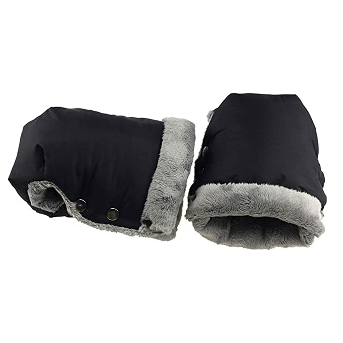 LeKing-Cochecito de bebé guantes cálidos, guantes impermeables, productos de exterior materno infantil.