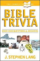 The Complete Book of Bible Trivia (Complete Book Of... (Tyndale House Publishers))