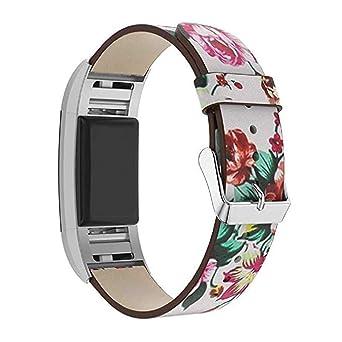 Bracelet à la Mode, fittingran rimontaggio Sangles de Cuir pour Bracelet Fitbit Charge 2-